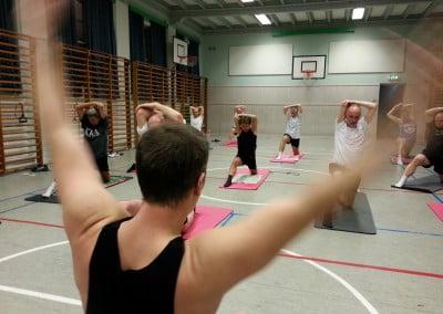 Gymnastik på gulv