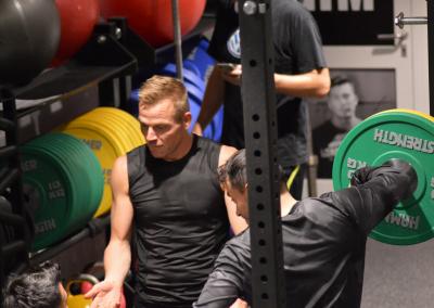 Rainbow Bootcamp, styrketræning med træner