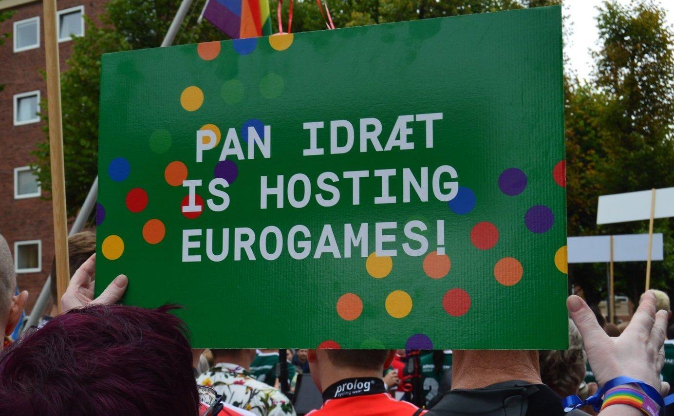 banner about pan idræt is hosting eurogames